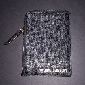 Opening Ceremony leather pouch